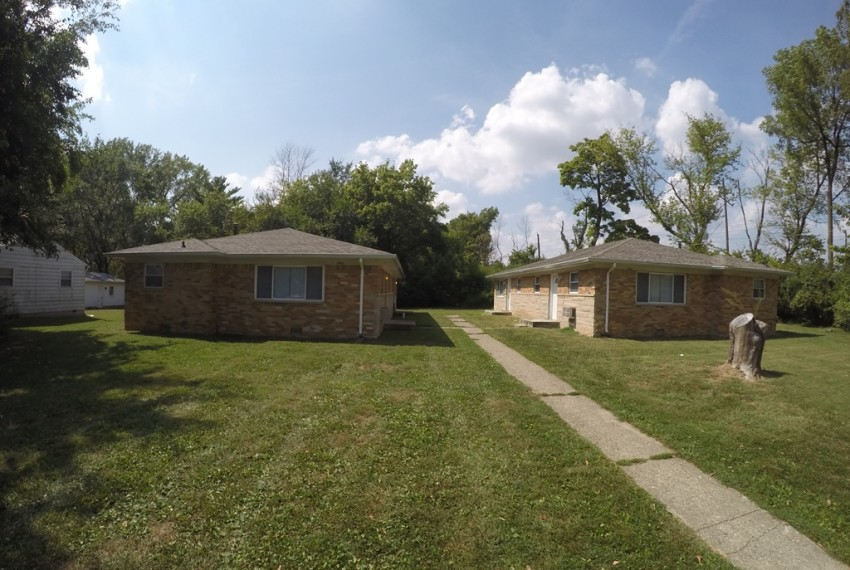 Sell my home fast Indianapolis Side Exterior
