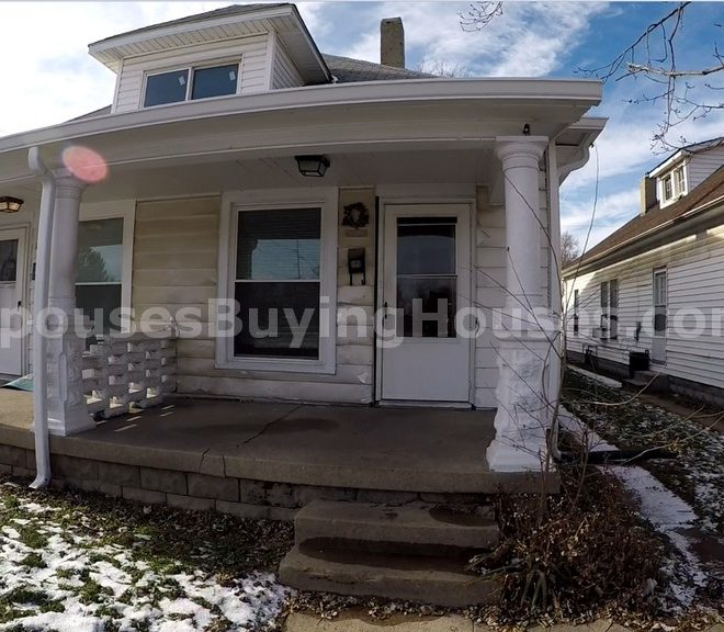 Indianapolis rental homes front ext