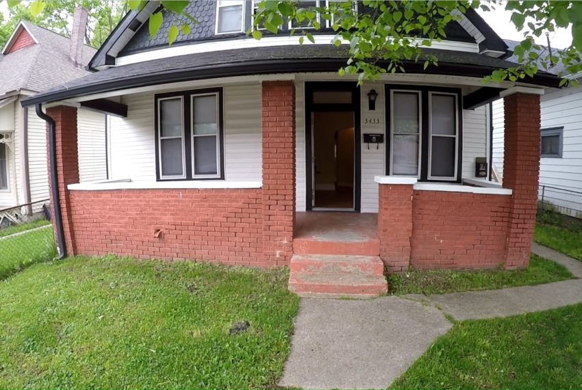 houses for rent Indianapolis Front Ext