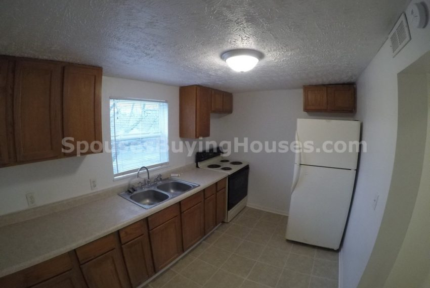 We Buy Homes In Indianapolis Too!  Kitchen
