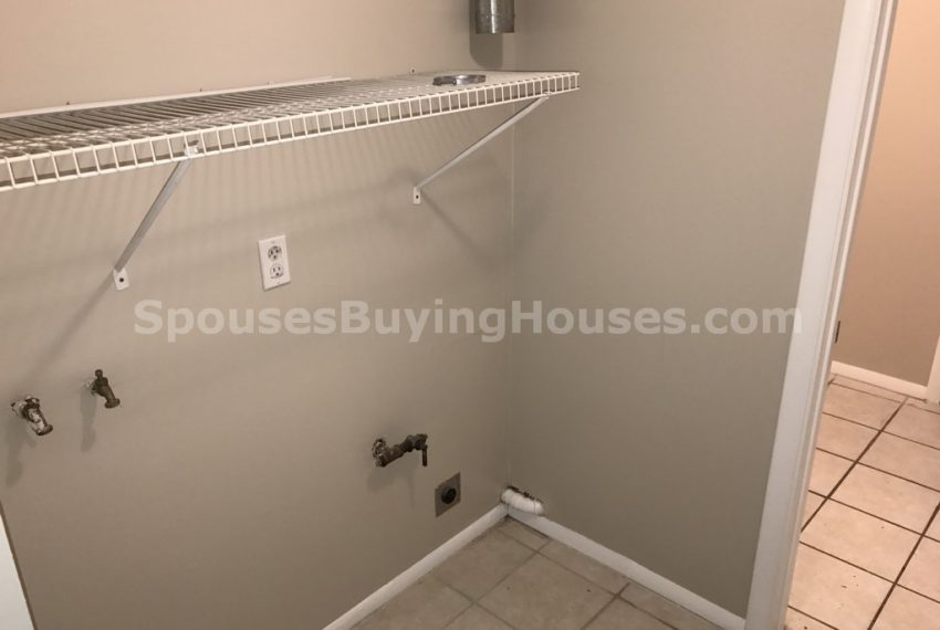 selling your house Indianapolis Laundry Room