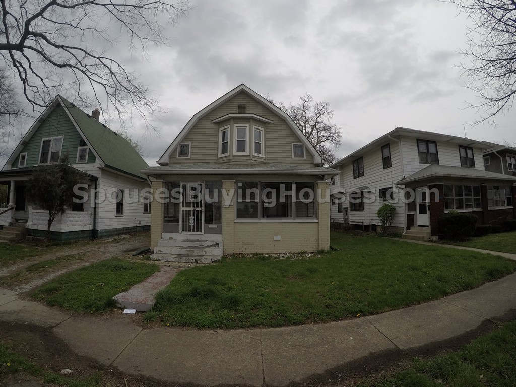 Indianapolis houses for rent 3127 N Boulevard