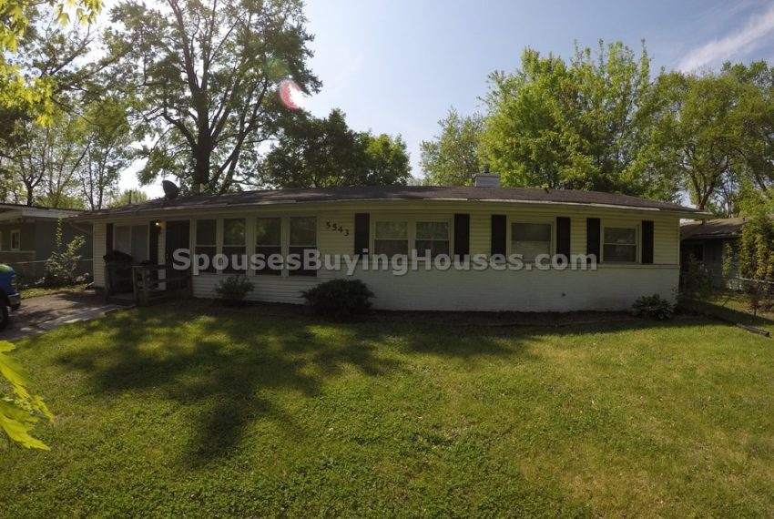 Sell my home Indianapolis Front Exterior