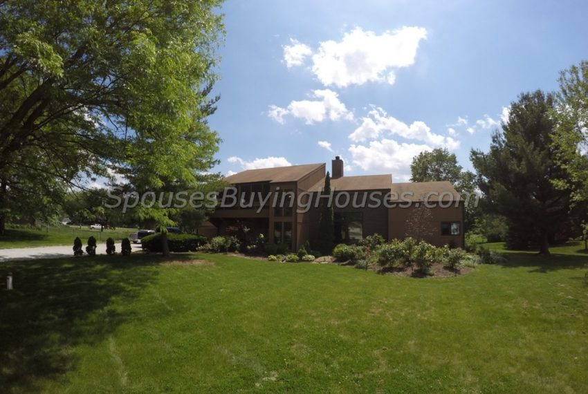 selling your house Indianapolis Back Exterior