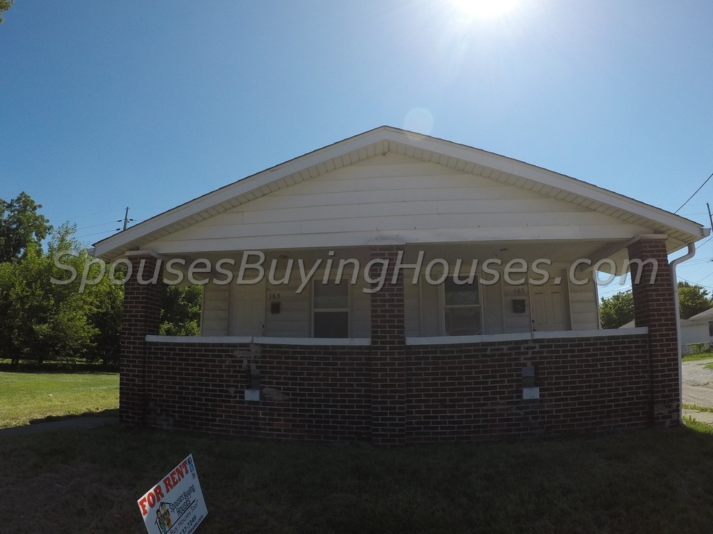 homes for rent Indianapolis 163 Harlan St, Indianapolis, IN 46201