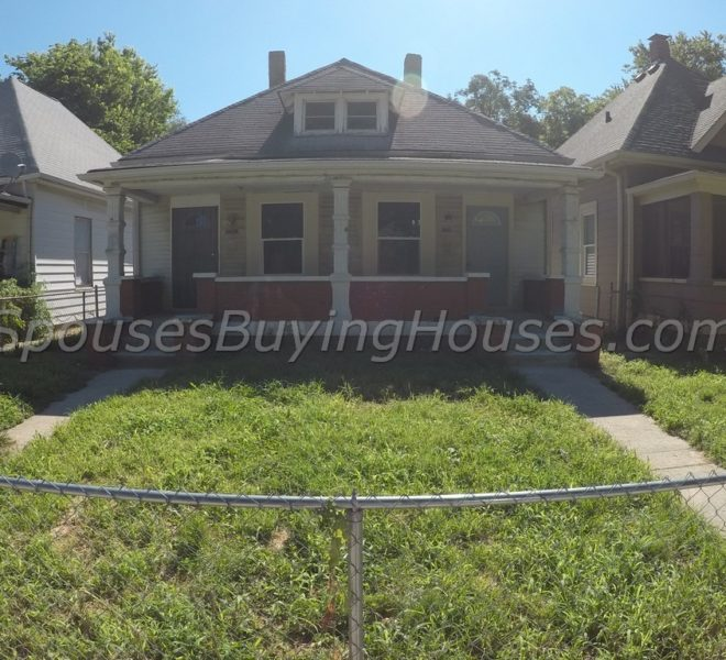 Sell my house Indianapolis 1341 Hiatt Front Exterior