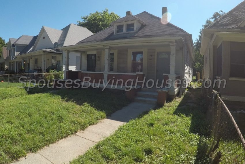 we buy ugly houses Indianapolis Exterior