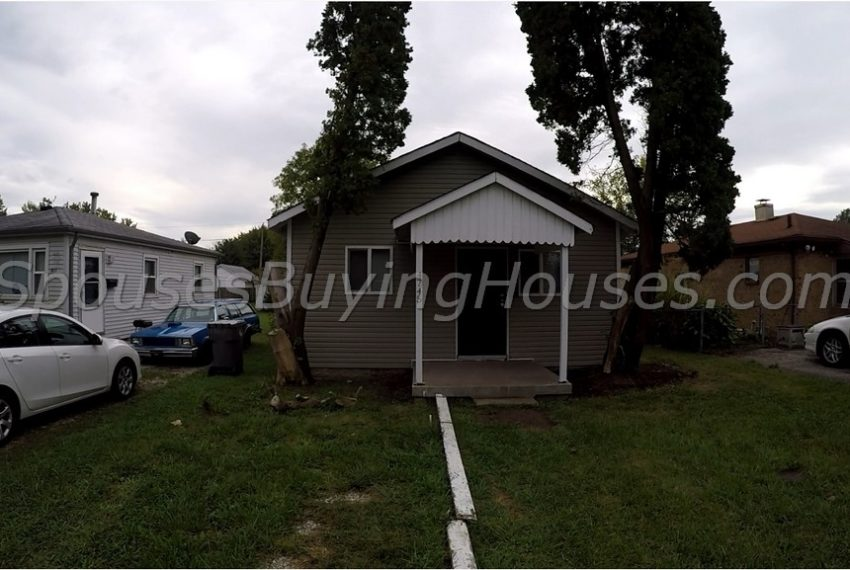 we buy ugly homes Indianapolis Front Exterior
