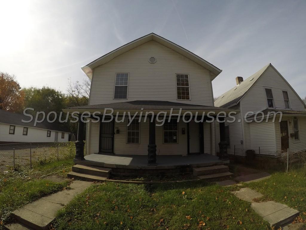 We Buy Houses Indianapolis 644 Luett