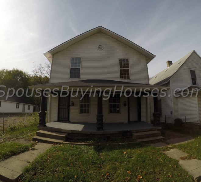 We buy homes Indianapolis Front Exterior