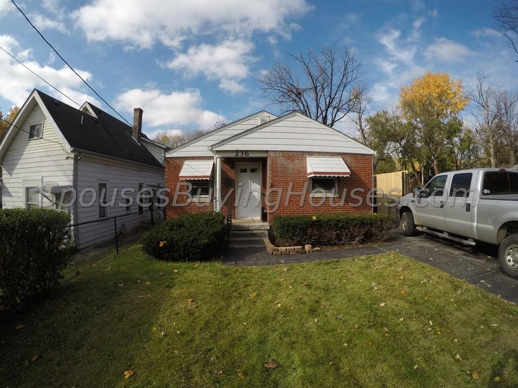 We buy houses Indianapolis 236 S Sherman