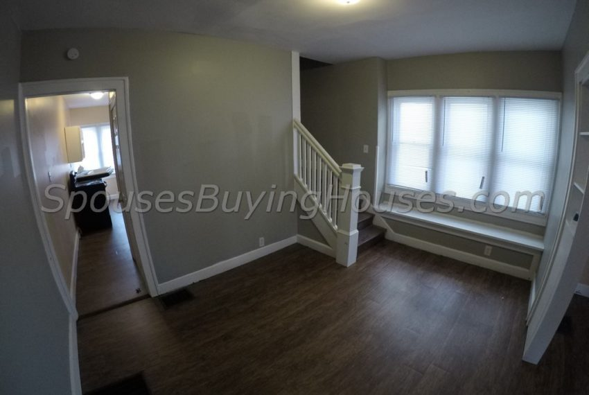we buy homes for cash Indianapolis Stairwell