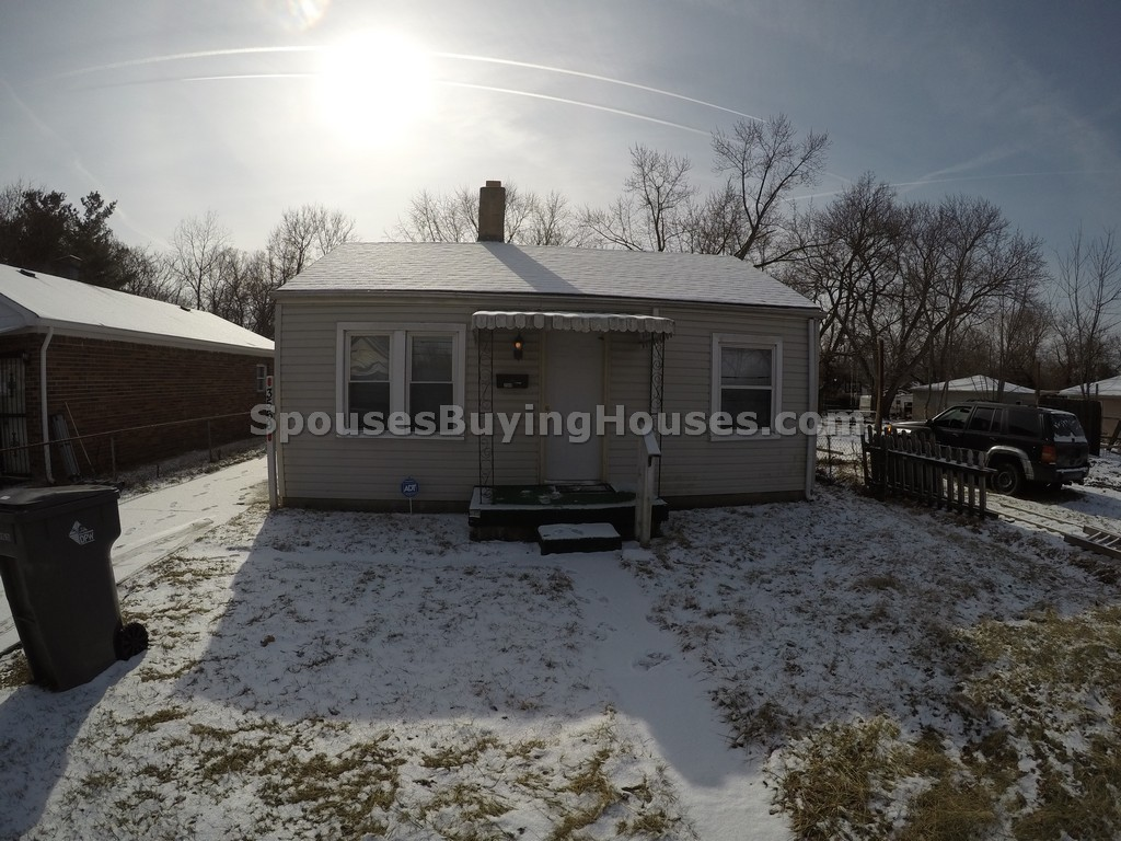 Rent this home Indianapolis 3569 Prospect