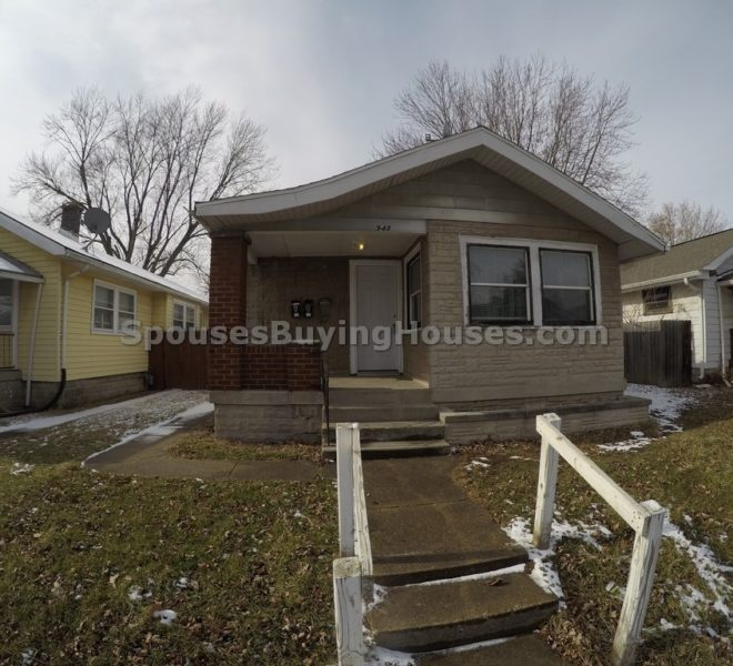 we buy houses Indianapolis Front Exterior 948 Kealing Unit B